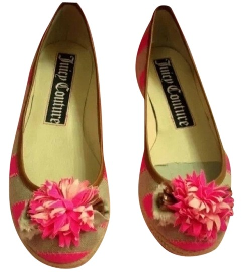 Juicy Couture Pink Flats