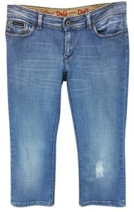 Dolce&Gabbana Dolce & Gabbana Cotton Capri/Cropped Denim-Light Wash