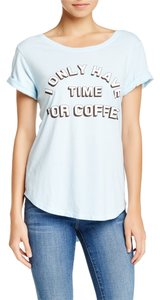 Signorelli Coffee T Shirt LIGHT BLUE