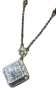 Carolee Carolee Silver and rhinestone necklace