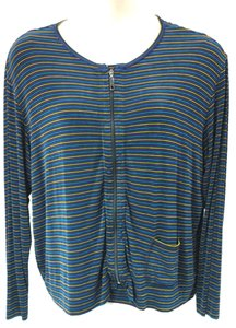 Chico's Stretchy Striped Twinset 3 Cardigan