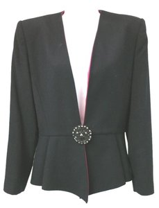 Nolan Miller Wool Cocktail Jacket BLACK Blazer