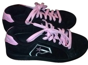 DC Shoes Black and Pink Athletic
