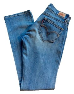 Levi's Straight Pants Blue Denim