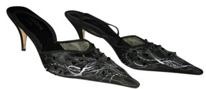 Other Slingback Beaded Made In Italy Black Formal
