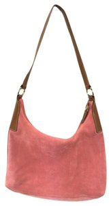 Talbots Satchel in Pink/Coral/Salmon