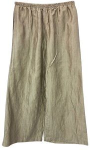 I.C. BY CONNIE K Elastic Linen Relaxed Pants SAND