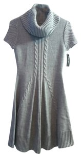 Jessica Howard Sweater Cable Sweater Cowl Neck Dress