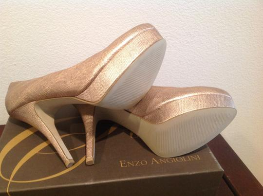 Enzo Angiolini High 5 1/4 Pinkish Platforms