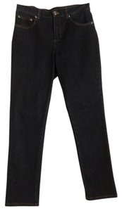 Jones New York Boot Cut Jeans-Dark Rinse