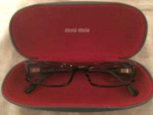 Miu Miu Miu Miu Reading glasses