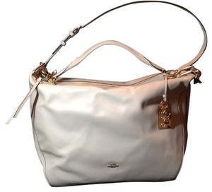 Coach Tote in Milk With Goldtone Hardware