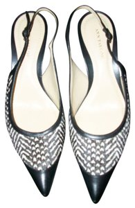 Ann Taylor Black & White Pumps