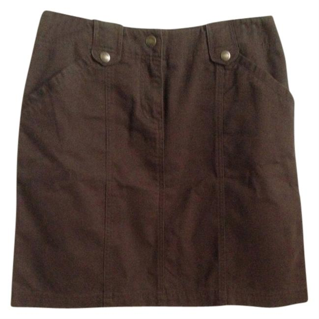 Jones New York Skirt Brown