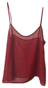 American Apparel Top Red