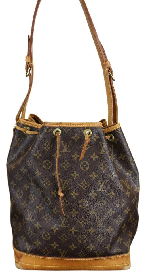2c8f1ed61332 Louis Vuitton Vintage Noe Gm Monogram Brown Coated Canvas Tote - Tradesy