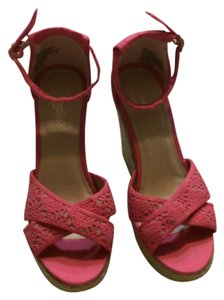 Candie's Coral Sandals