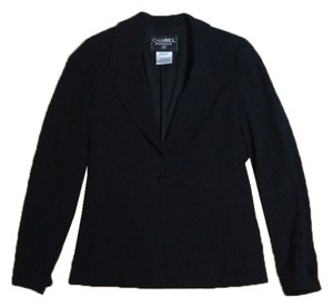 Chanel Wool black Blazer