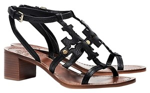 Tory Burch Chandler Size 10 Black Sandals