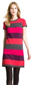 Calvin Klein short dress Begnia/currant Knee Length Striped New With Tags Sweater on Tradesy
