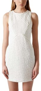 Topshop Lace Bodycon Sleeveless Dress