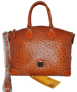 Dooney & Bourke Satchel in Cognac