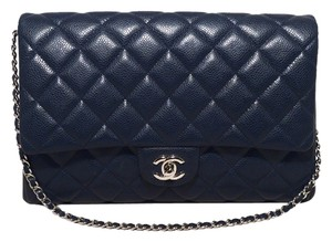 Chanel Caviar Clutch Shoulder Bag