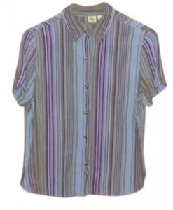 Other Summer Button-down Islander Casual Top