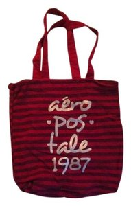 Aeropostale Tote in Red