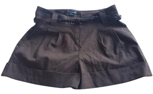 Item - Brown Checkered Shorts Size 2 (XS, 26)