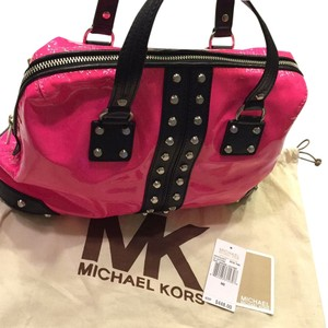 Michael Kors Satchel in Neon Pink
