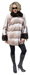 Greece Genuine Mink Fur Coat