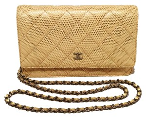 Chanel Woc Lizard Woc Woc Wallet Wallet On A Chain Lizard Lizard Classic Shoulder Bag