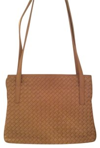 Bottega Veneta Style Woven Leather Shoulder Bag