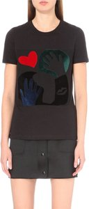 Sandro T Shirt black