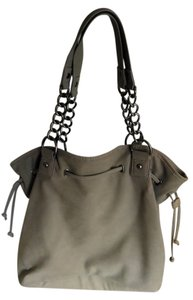 Express Metallic Hardware Shoulder Bag