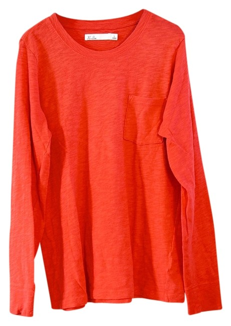 Preload https://item2.tradesy.com/images/madewell-red-fadeout-tee-shirt-size-12-l-960166-0-0.jpg?width=400&height=650