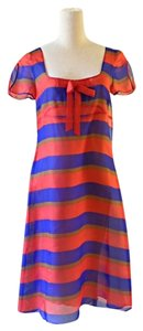 Moschino short dress blue , red on Tradesy