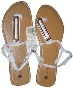 Chatties Size 11 White Sandals