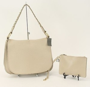 Cole Haan Brushed Gold Tote in Beige