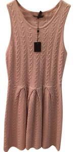 BCBGMAXAZRIA short dress light ash on Tradesy