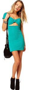 MINKPINK Cut-out Mini Chic Bodycon Stretchy Dress