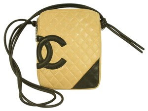 Chanel Quilted Cambon Leather Hot Cc Cross Body Bag