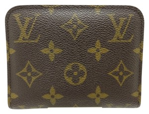 Louis Vuitton Authentic Louis Vuitton Monogram Insolite Coin Purse/Wallet w/ Orange Interior