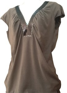 BCBGMAXAZRIA T Shirt Chocolate Brown