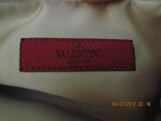 Valentino Pink and white Clutch