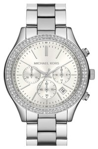 Michael Kors NWT Michel Kors Crystal Bezel Chronograph Bracelet Watch