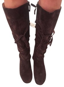 Me Too Brown Suede Boots