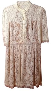 ALICE by Temperley Lace Romantic High Neckline Vintage Inspired Dress
