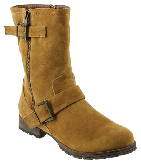 Red Circle Footwear Tan Boots